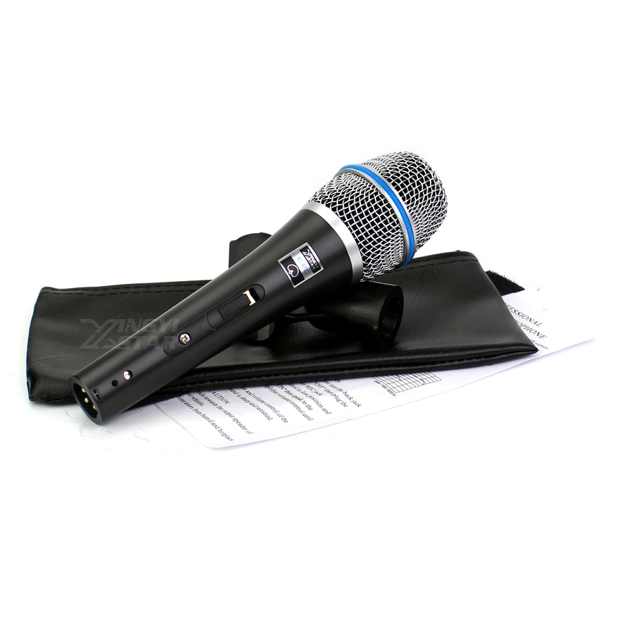 BT-87C Switch Professional Handheld Mic Vocal Dynamic Microphone System