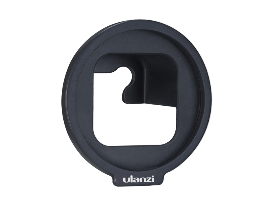 Ulanzi G8-6 52MM Filter Adapter for Gopro Hero Black 8 Easy Install Removable Gopro 8 Filter Adapter Ring
