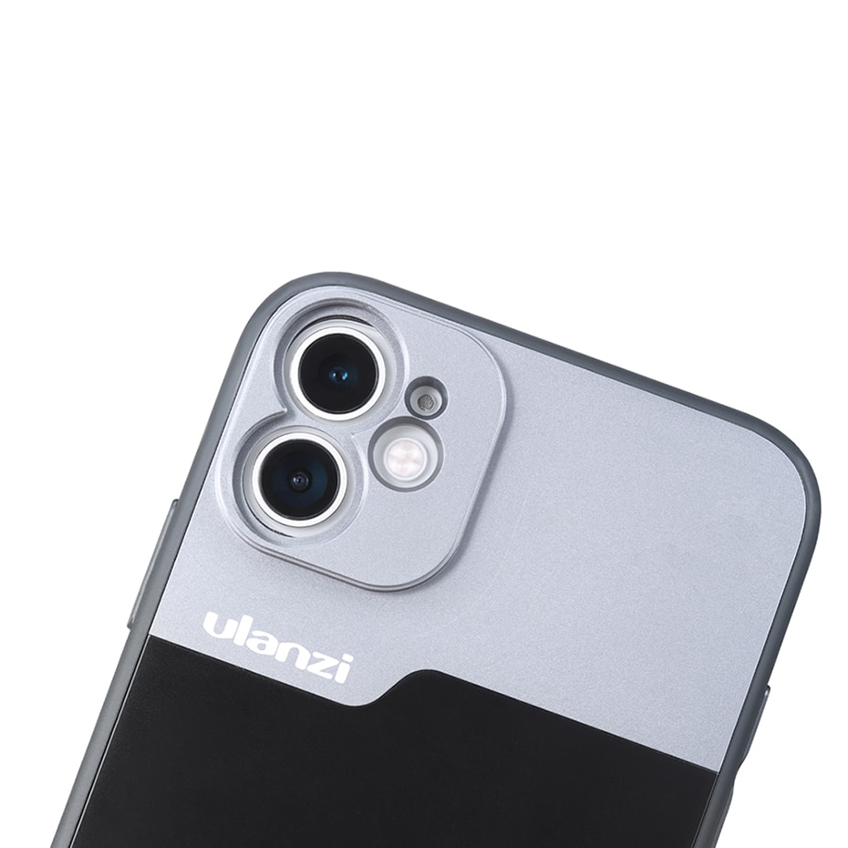 Ulanzi 17MM Thread Phone Case with Anamorphic Lens Macro Lens for iPhone 11 Pro Max 75MM Macro Lens with Phone Case